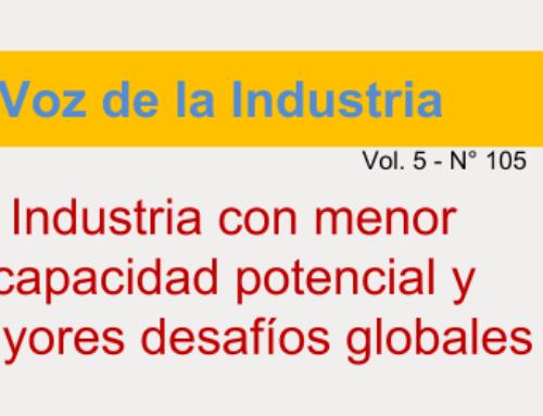 Industria con menor capacidad potencial y mayores desafíos globales