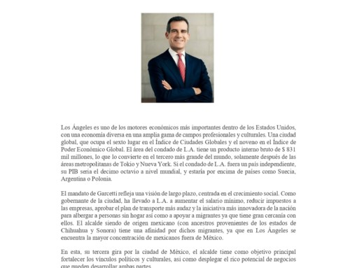 Encuentros AspenMX: Diálogo con Eric Garcetti